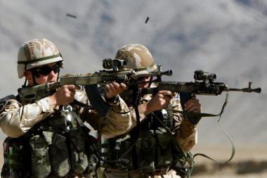 CŽV Afganistane pati įkliuvo į savo spąstus