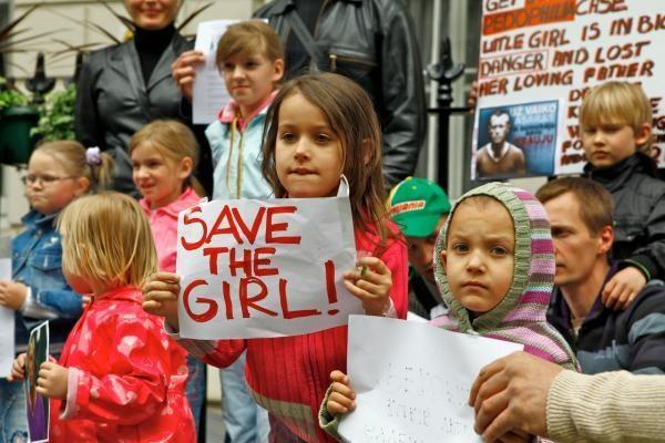 Londono lietuviai D.Kedžio dukrą parems tarptautinėje akcijoje