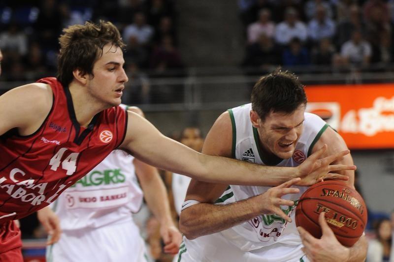 """Vitorijoje """"Žalgirio"""" krepšininkai nukovė baskus (komentarai)"""