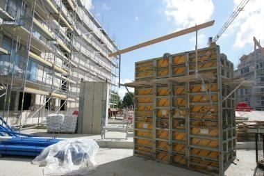 Iš statomo namo išnešė statybines medžiagas