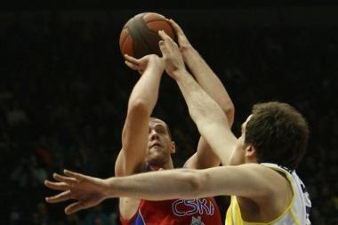 R.Šiškauskas pelnė 7 taškus, o CSKA iškovojo pergalę