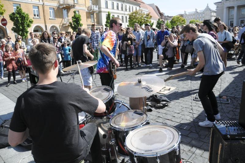 GMD skelbia: gatvės muzika yra grindinio, o ne pakylos muzika