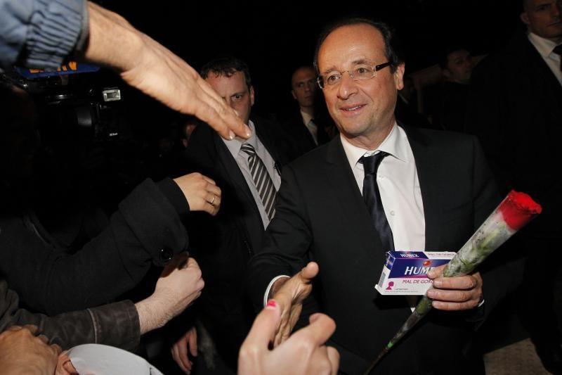 Naujajam prancūzų prezidentui - tarptautinės diplomatijos išbandymai