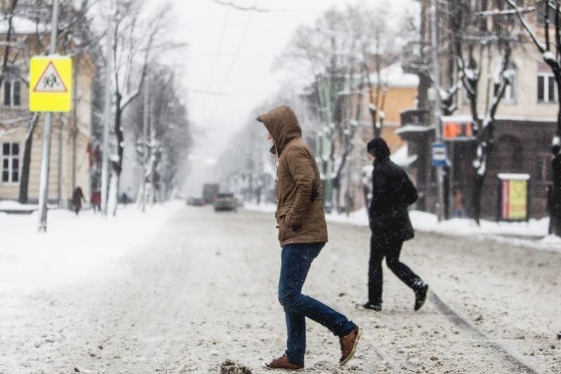 Snygį keis sausesni ir šaltesni   orai