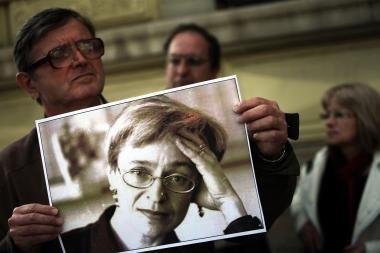 A.Politkovskajos byla pasiekė teismą