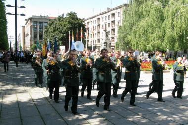 Pirmoji rugsėjo diena Laisvės alėjoje (nuotr.)