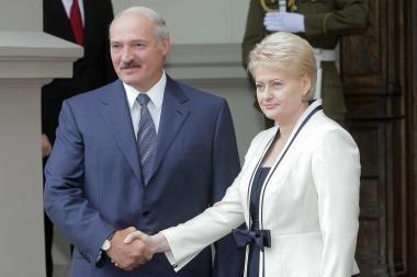 Šaltiniai: D.Grybauskaitei stabilumo garantas A.Lukašenka