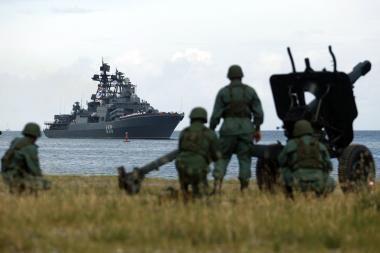 Prie JAV vandenų - Rusijos ir Venesuelos pratybos
