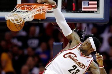 LeBronas Jamesas vėl taps naudingiausiu NBA