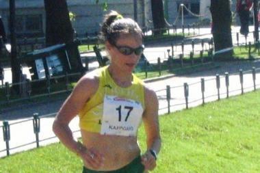 K.Saltanovič vėl tapo sportinio ėjimo varžybų Lisabonoje nugalėtoja