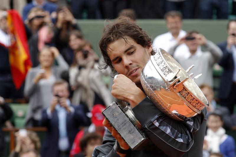 R.Nadalis septintą kartą triumfavo Prancūzijoje