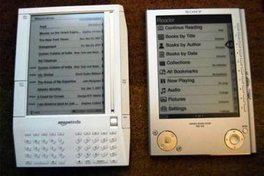 2009 metai: visų akys krypsta į elektroninius skaitytuvus