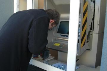 Iš ligoninės pavogtas bankomatas