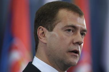 D. Medvedevas verslą į Rusiją vilioja mažais mokesčiais