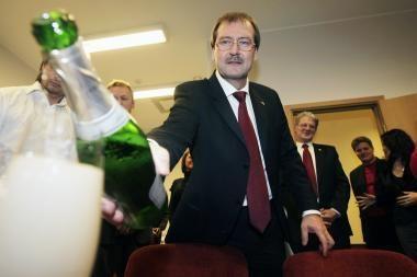 V.Stundys: postų siūlymas Darbo partijai - ateities klausimas