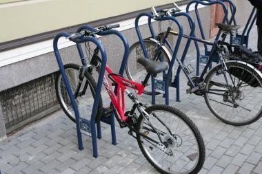 Vilniuje vagišiai nušvilpė 7 dviračius