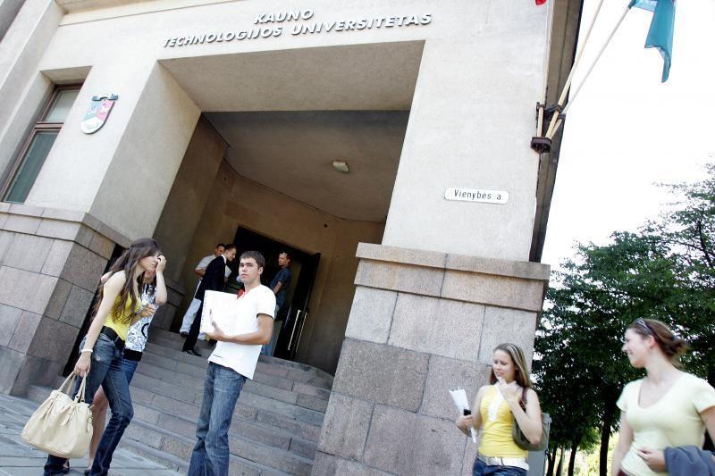 Kauno studentai priešinasi siūlymui jungti universitetus
