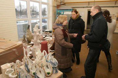 Keramikai išlaisvins vaizduotę