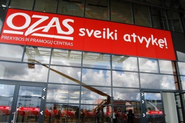 """""""Oze"""" šią vasarą atidarytos septynios naujos parduotuvės"""