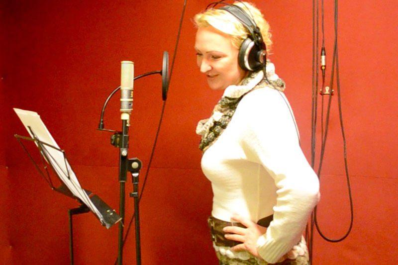 Inga Norkutė savo balsą paskolino Juliai Roberts