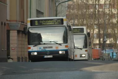 Klaipėdos senamiestyje norima autobusų stotelių