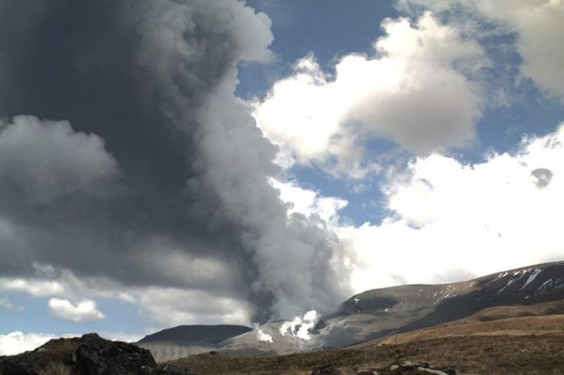 "Naujojoje Zelandijoje išsiveržė ""Žiedų valdovo"" ugnikalnis"