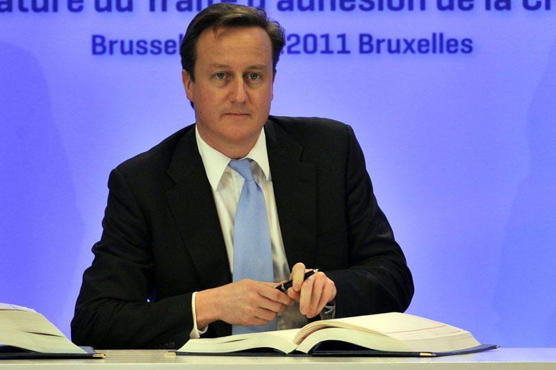 Britanijos premjeras D. Cameronas grasina blokuoti ES biudžetą