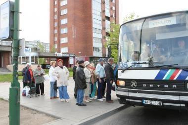 Važiuojantiems autobusu į Dituvą – eksperimentas