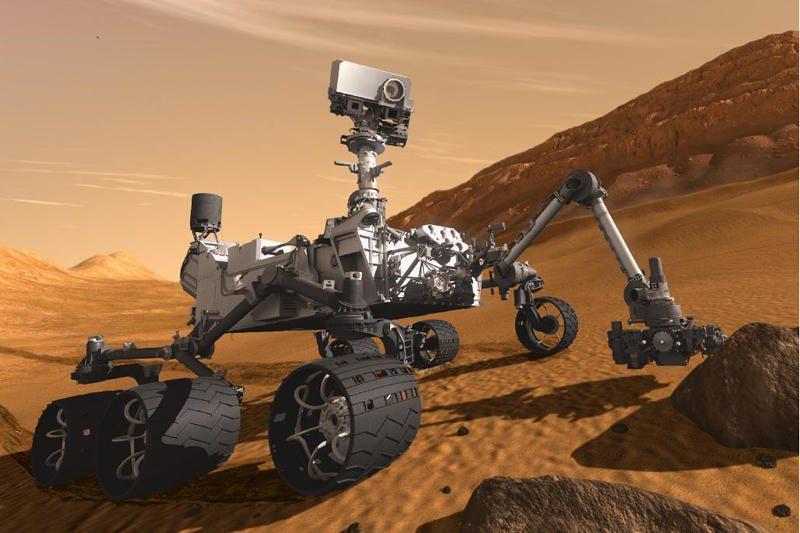 Tyrimas: Marse rasta gyvybės sudedamųjų dalių