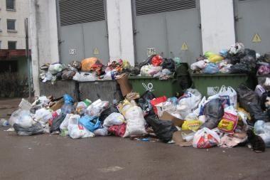 Kaunietė prašo išvaduoti nuo atliekų