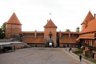 Rudenį Trakų pilyje - dar viena atnaujinta salė