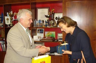 Švedijos ambasadorė žavėjosi uostamiesčio pažanga