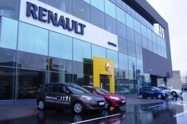"""""""Renault"""" atšaukia 35 tūkst. automobilių"""