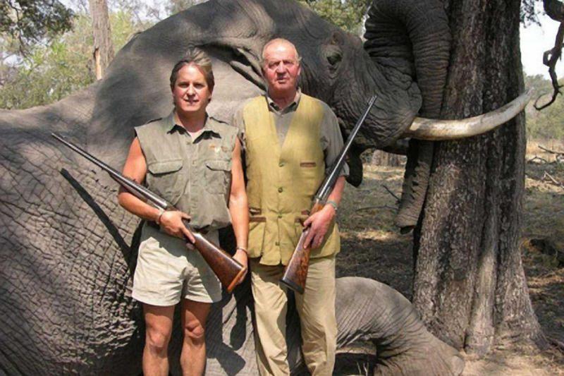 Ispanijos karalius sulaukė kritikos dėl medžioklės Botsvanoje