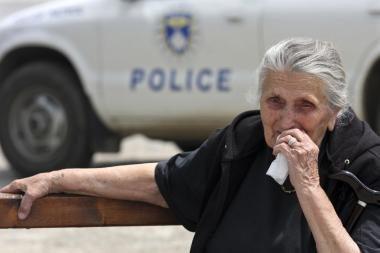Serbų policija suėmė penkis asmenis, kaltinamus karo nusikaltimais