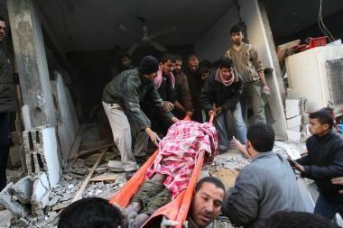 Gazos ruože - aršūs mūšiai