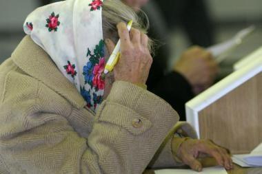 Pensinis amžius gali ilgėti iki 67-erių