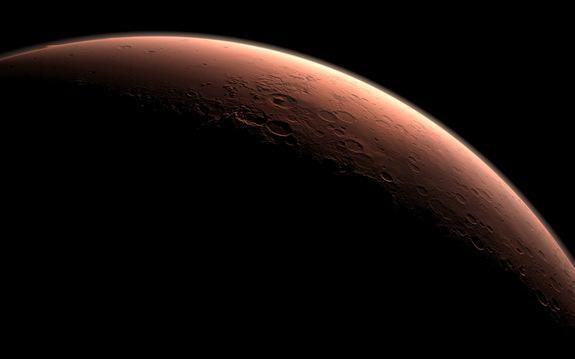 Snaigės Marse – raudonųjų kraujo kūnelių dydžio