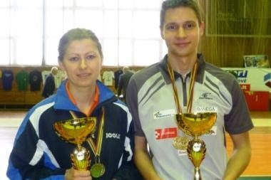 Stalo tenisininkui M.Skučui – trys aukso medaliai
