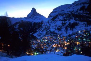 Sutikite Naujuosius slidinėdami Alpėse