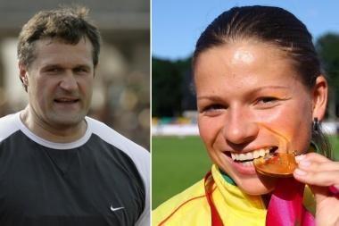 Geriausi 2009 metų Lietuvos lengvaatlečiai - V.Alekna ir L.Grinčikaitė