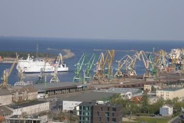 Klaipėdos uoste - Baltarusijos Ministro pirmininko delegacija
