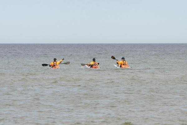 Estijoje žuvo du maratono baidarėmis Kolgos įlankoje dalyviai