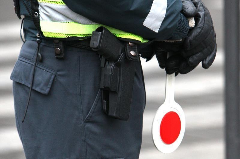 Neblaivus vairuotojas policininkams siūlė 500 litų kyšį