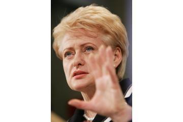 D.Grybauskaitė - geidžiamiausia kandidatė į prezidentus