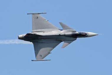 Baltijos šalių oro erdvėje - NATO pratybos