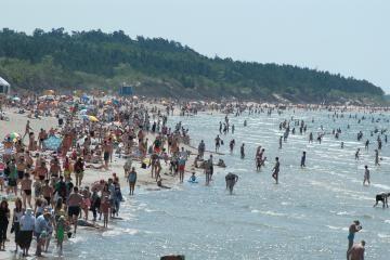 Klaipėdos paplūdimiuose vanduo švarus