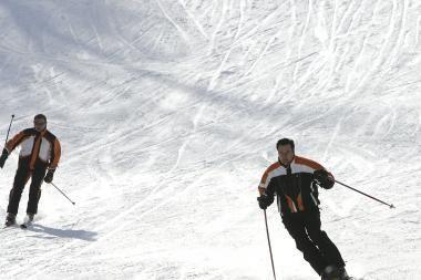 Kur Kauno rajone bus įrengtos slidinėjimo trasos?
