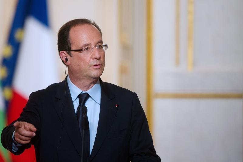 Prancūzijos prezidentas: įrodymai rodytų, kad al Assadas susijęs su cheminėmis atakomis