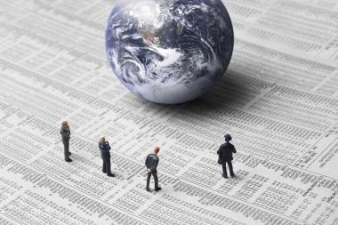 G-20 ministrai: pasaulio ekonomika atsigauna